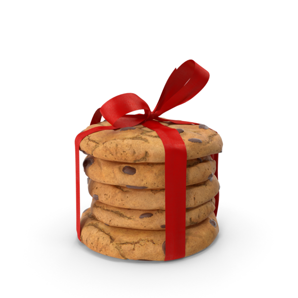Cookies Tied with Ribbon