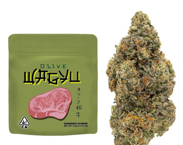 Buy Olive Wagyu Weed Strain by The Rare Online