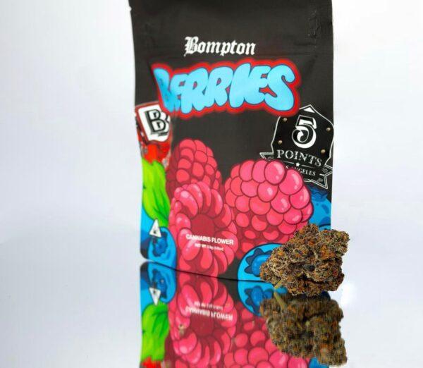 Buy Bompton Berries Strain by 4hunnidflowers