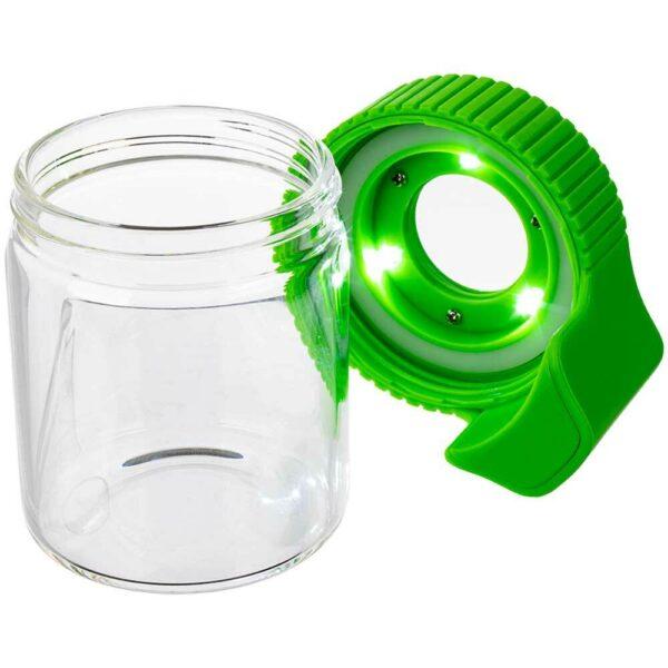 Buy Green Cookies Led Lit Airtight Mag Jar
