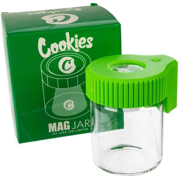 Cookies Led Lit Airtight Mag Jar Wholesale