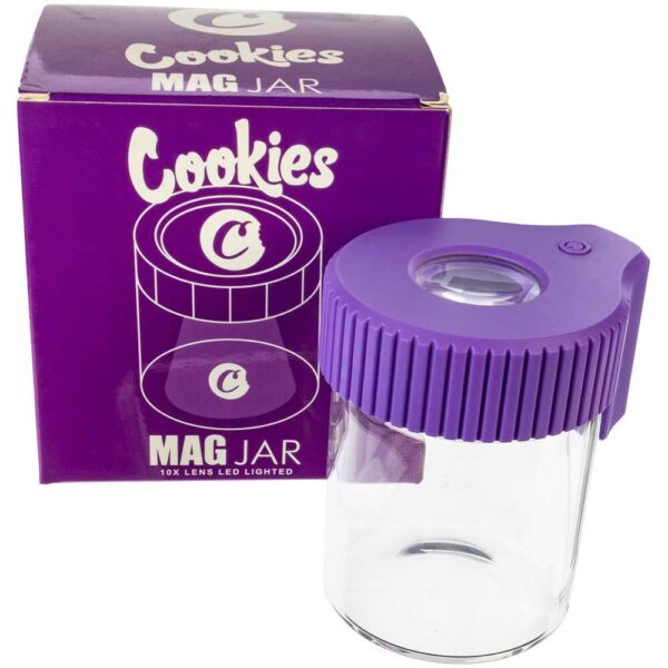 Where to Buy Cookies Led Lit Airtight Mag Jar