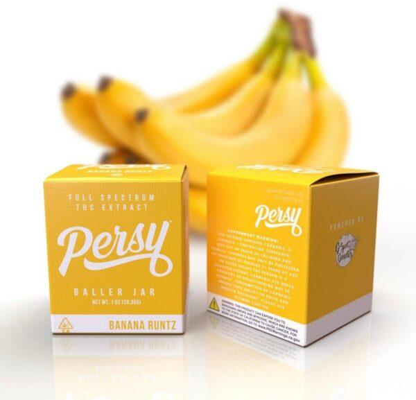 Buy Banana Runtz Persy Baller Jar Online
