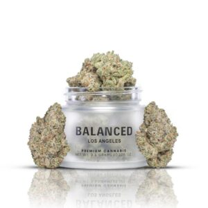 Buy Blueberry Crunch Strain By Balanced Los Angeles